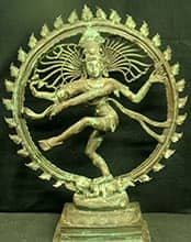 Dancing Shiva Bronze sculpture