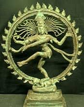 Dancing Shiva Bronze sculpture