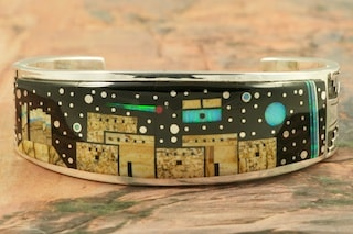Calvin Begay Starry Night Bracelet
