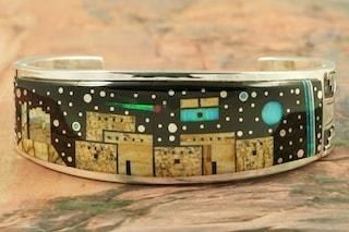 Calvin Begay Starry Night Bracelet