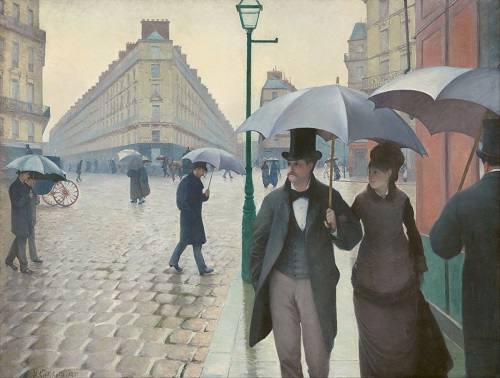 Art Institute of Chicago's, Paris Street, Rainy Day & Modernity