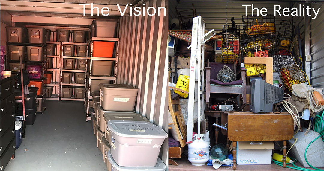 Storing Estate Art and Antiques in a Storage Unit is a Bad Idea